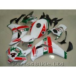 Honda CBR1000RR 08 09 10 11 red white plastikai