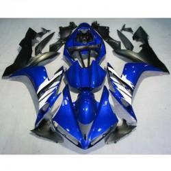 YAMAHA YZF-R1 04-06 05 Blue White plastikai