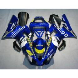 Yamaha YZFR1 YZF R1 2000-2001 plastikai