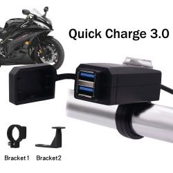 """""""Quick Charge"""" 12V moto greito pakrovimo įrenginys"""