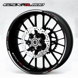 Ratų lipdukai GSXR 600