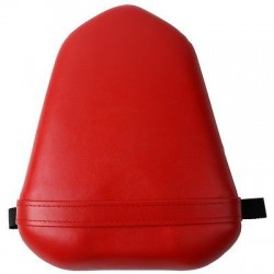 RED Seat Cover For Yamaha YZF 1000 R1 2007 2008 Seat Vintage Leather Motorcycle Rear Passenger Seat