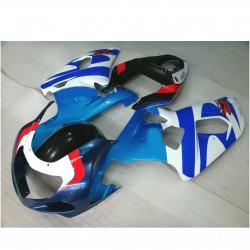 SUZUKI 2002 2003 GSXR 600 2001 GSXR 750 K1 plastikų komplektas