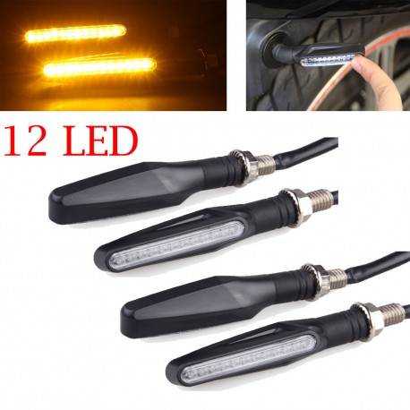 Lankstūs LED moto posukiai (2vnt.)
