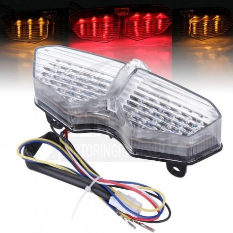 Yamaha YZF R6 2003-2008 LED stop žibintas su integruotais posūkiais