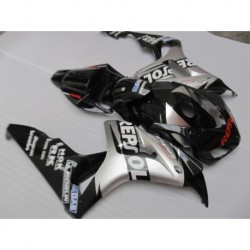 Injection molding high quality fairing kit for Honda CBR1000RR 06 07 silver black fairings set CBR10