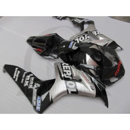 onda CBR1000RR 06 07 silver black fairings set