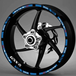 "Ratų lipdukai ""GSXR 750"" (mėlyna)"