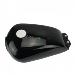 Motorcycle Bright black Fuel Gas Tank For Suzuki GN125250 Cafe Racer 24 Gallon 9L Universal