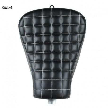 Motorcycle Parts Driver Front Block Leather Pillow solo Seat Cushion For Harley Sportster Forty Eigh