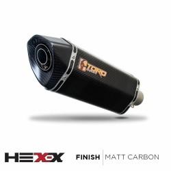 Toro T1 Hex-x Matt Carbon duslintuvas KTM Duke 125 11-17