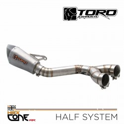 BMW S 1000 RR 2009-2011 Toro T1 Hex-x Matt Carbon duslintuvas