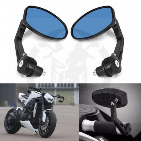 Moto veidrodėliai ant vairo galų