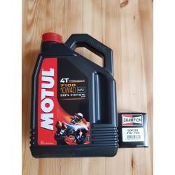 MOTUL 7100 10W40 4L + COF203 tepalo filtras