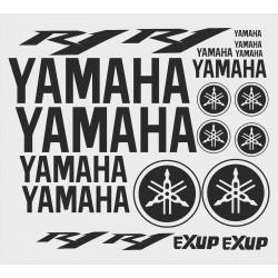 Yamaha R1 lipdukų komplektas (21vnt.)