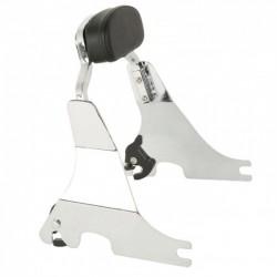 Detachable Chrome Short Sissy Bar For Harley Sportster XL 883 1200 04-17