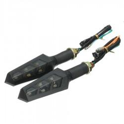 2X 6 LED moto posukiai (2vnt.)