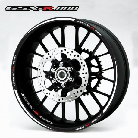 "Ratų lipdukai ""GSXR 600"" (raudona)"